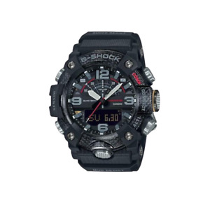 Authentic G-Shock Casio Master of G Mudmaster Carbon Core Guard Black GGB100-1A