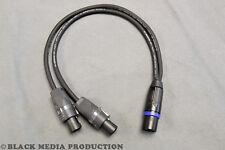 Lautsprecher Y-Kabel SC-Meridian SP225 NL2 -> 2x NL2 | Speakon NL4 Stecker 0,5m