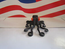 Lego BLACK OCTOPUS MINIFIGURE PART #6086 HARRY POTTER, CITY