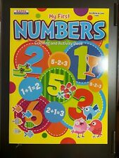 Kappa Educational My First Numbers Coloring And Activity Book Brand New Kids Fun