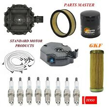 Tune Up Kit Filters Cap Wire Spark Plugs For GMC CABALLERO V8 4.4L 1981-1982