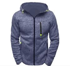 New Men Warm Hoodie Hooded Sweatshirt Coat Jacket Outwear Jumper Winter Sweater