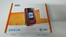 Nokia  6350 - Red (AT&T) Flip Mobile Phone