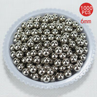 1000PCS 6mm Steel Loose Bearing Ball Replacement Parts Bike Bicycle Cycling AU