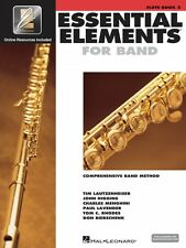 Essential Elements for Band Book 2 with EEi Flute Book with Online 000862588