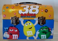 M&M's 2006 Nascar #38 Elliott Sadler Tin Lunchbox-c1
