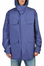 e9352b8b75e Gucci Men's Blue Full Zip Hooded Casual Jacket Size US 2xl It 56