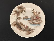 "Johnson Bros - The Old Mill - Bread & Butter Plate - 6 1/4"" -                 BV"
