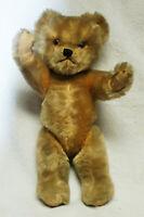 ESTATE Vintage Mohair TEDDY BEAR 13 inch