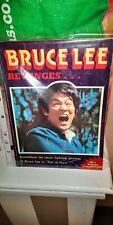 Bruce Lee Revenges,very Rare Lee Magazine.