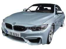 BMW M4 COUPE SILVER 1/18 DIECAST MODEL CAR BY PARAGON 97102