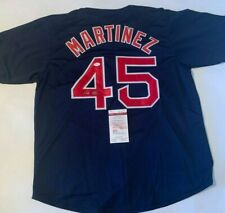 Pedro Martinez Autographed Boston Red Sox Jersey JSA Witnessed COA
