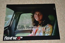 ROBBIE MORGAN signed autograph In Person 8x10 (20x25 cm)  FRIDAY 13th