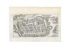 1 Orig.Kupferstich v.Riegel  1686 FRANKFURT AN DER ODER