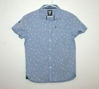 Superdry Ultimate Oxford Short Sleeve Shirt Size Large