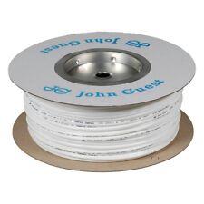 """John Guest 1/4"""" LLDPE Fridge Filter Tubing / Water Pipe / Hose - 20 Metres White"""