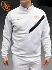 NIKE Total 90 Fleece Lined Thermal FOOTBALL Cotton Fleece Drill Training Top M