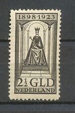 Nederland  130 F ongebruikt; vrijwel postfris