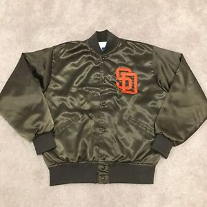 1980'S FELCO TEAM GAME ISSUED SAN DIEGO PADRES SNAP JACKET MEN'S SIZE LARGE