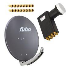 Fuba DAA 850 A SAT Schüssel Spiegel + PremiumX Octo LNB für 8 Teilnehmer HDTV 4K