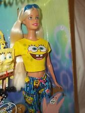 2002 SpongeBob Squarepants Barbie #B2993 Priced To Sell