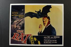 LOT# 25: SEVEN REPRODUCTION HORROR MOVIE LOBBY CARDS featuring VINCENT PRICE~