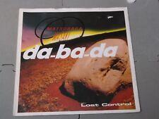 """Matsubara Masaki:   Da-Ba-Da   UK  PROMO   7""""   Near mint"""