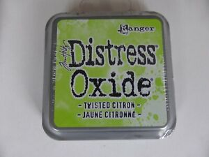 *NEW* (Ranger) TIM HOLTZ Distress OXIDE *Twisted Citron* (Full Sized Ink Pad)