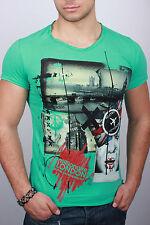 New Green T-shirt Short Sleeve d.g:Men'S Size XXL