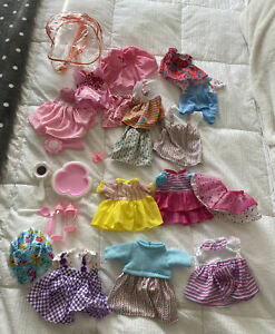 Baby Alive Doll  Clothing Accessories  Lot Of 24 Pieces  Dresses Accessories NEW