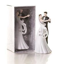 Elegant Bride And Groom Design Cake Topper