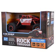 2.4G 4CH 4WD RC Crawler 1/18 Escala Off-Road Buggy Coche de juguete de control remoto de vehículo
