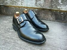 CHEANEY MONK STRAP – BLACK – UK 7 – NICKY – VERY GOOD  CONDITION