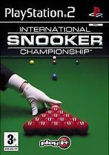 International Snooker Championship (Sony PlayStation 2, 2004) - European Version