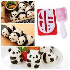 Mould Ball Panda DIY Sushi Nori Punch Maker Onigiri Shape Rice Mold