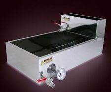 Badgerland 2'x4' Flat Maple Syrup Pan w/Valve, Therm, Preheater. Evaporator
