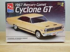 AMT Ertl 1967 Mercury Comet Cyclone GT 1:25 Yellow SEALED