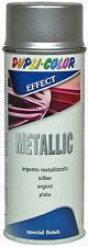 1x400ml Lackspray Metalliklack Sprühlack metalleffekt Metallic Acryllack Silber