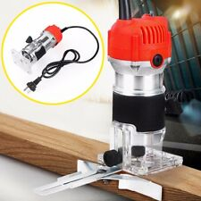 800W 220V 6.35mm Electric Hand Trimmer Wood Laminate Palm Router Joiner Tool