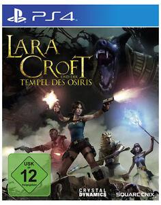 Sony PS4 Playstation 4 Spiel * Lara Croft und der Tempel des Osiris *Tomb Raider