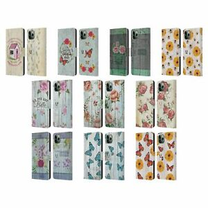 HEAD CASE COUNTRY CHARM LEATHER BOOK WALLET CASE COVER FOR APPLE iPHONE PHONES