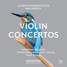 Ludwig van Beethoven : Ludwig Van Beethoven/Max Bruch: Violin Concertos CD