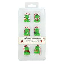Deliciosa Adornos de Navidad (salamandras) por BUG AZUL-Juego de 6