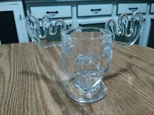 Christmas Vacation Marty Moose Mug Antler Glass Cup Clear National Lampoons Nice