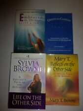 7 Lot Sylvia Browne,Conversations with the Other Side,Phenomenon,Spirit Guide+