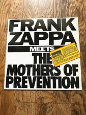 FRANK ZAPPA - FRANK ZAPPA MEETS THE MOTHERS OF PREVENTION - AVANT GARDE,ROCK !!!