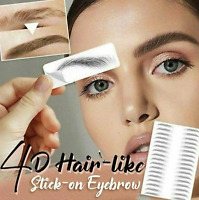 4D HAIR LIKE EYEBROWS STICK-ON AUTHENTIC EYEBROWS TATTOO STICKER WATERPROOF
