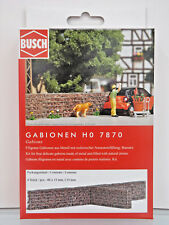 Busch 7870 - H0 1:87 - Gabions - New Original Packaging