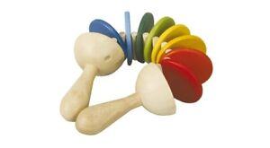 NEW PlanToys Clatter, toddler preschool wooden musical rhythm instrument
