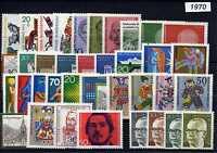 BRD  Jahrgang 1970-1979  komplett,  postfrisch